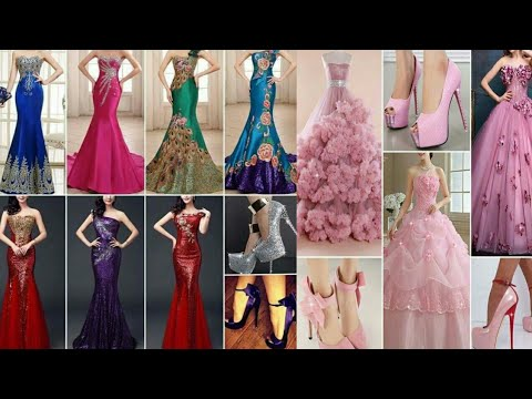 TOP 10 ELEGANT DRESSES COLLECTION 2019/ DRESSES FOR EVENING PARTY/PROM/FLORAL BALL GOWNS