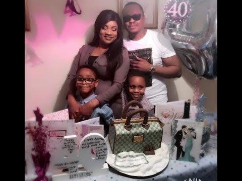Yoruba Actress Opeyemi Aiyeola's 40th Birthday Party With Family & Friends