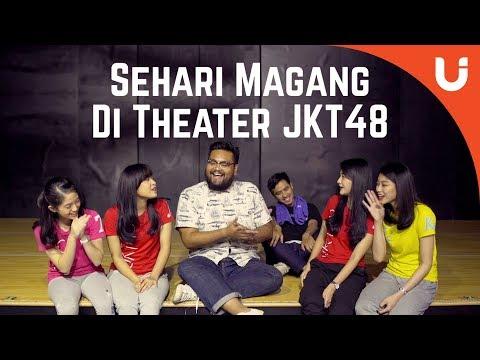 SEHARI BARENG MELODY, DESY, ANGEL, EVE, DAN SAKTIA DI THEATER JKT48