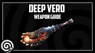 Monster Hunter World | Deep Vero (Deviljho Horn) - Weapon Guide