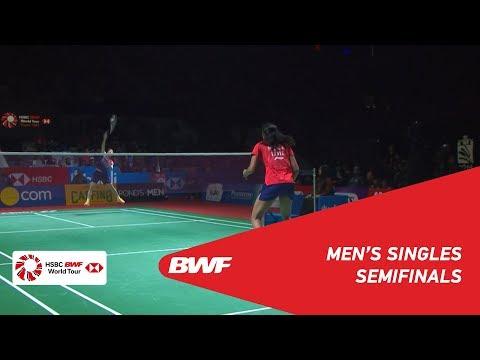 SF | WS | PUSARLA V. Sindhu (IND) [5] vs. CHEN Yu Fei (CHN) [2] | BWF 2019