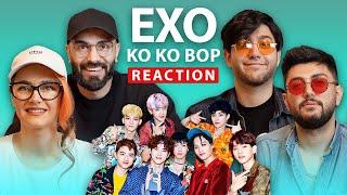 KenareTeam Reaction - EXO 엑소 'Ko Ko Bop' MV / ری اکشن کنارتیم به اکسو
