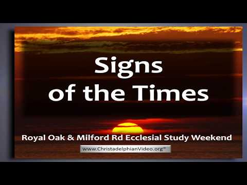 Signs Of The Times update: Class 1 'Israel The Spoil' Ezekiel 38