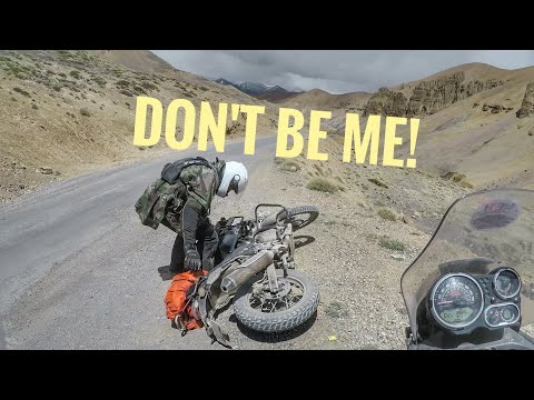How To Ride A Motorcycle In India & SURVIVE