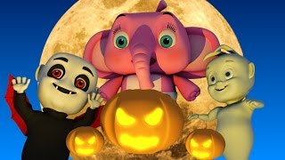 Scary Nursery Rhymes | Halloween songs collection for kids | Spooky NURSERY RHYMES FOR CHILDREN