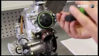 Contrôle de la valve à l'échappement - moteur Rotax