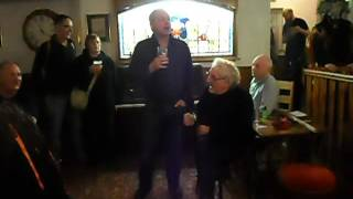 All Hallows Gathering 2016 - Hedley Venning & Jack Evans sing in the Welly.