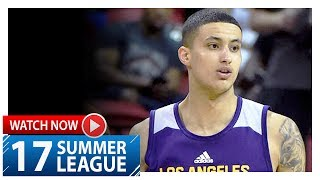Kyle Kuzma Full Highlights vs Nets (2017.07.15) Summer League - 26 Pts, 4 Ast