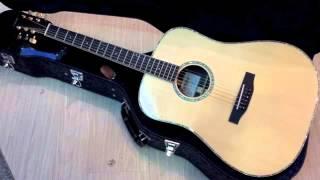 頂級tanger td 35a玫瑰木全單板木吉他 錄音檔