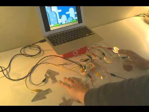 Makey Makey SNES controller