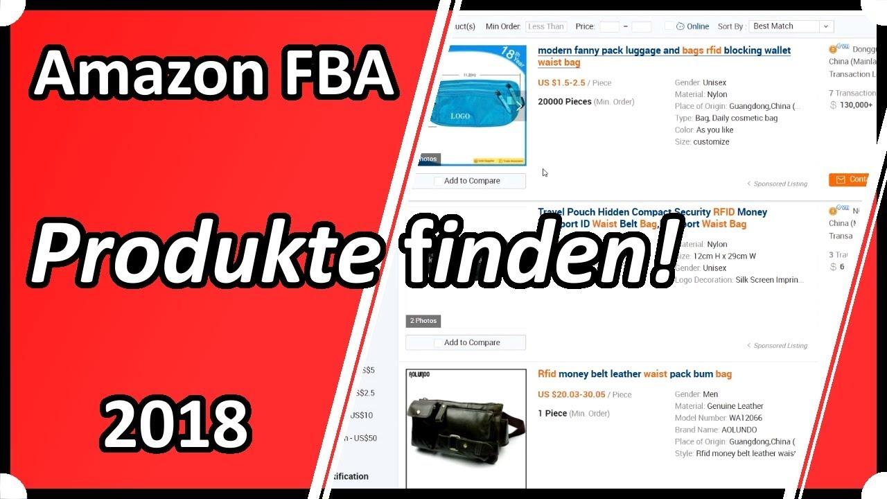 Amazon Fba Produkte Finden
