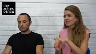 Meet Our Tutors: Daniel Benzenou & Alice Bird | Act Without Acting
