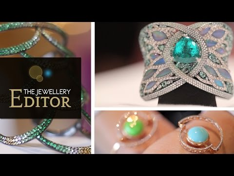 Paraiba tourmalines and other incredibly colourful bracelets: Selim Mouzannar, Lynn Ban, Arunashi