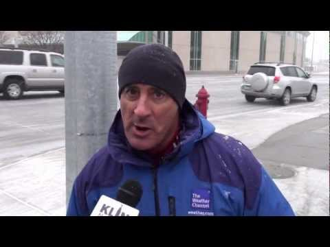 Jim Cantore makes an important declaration regarding Lincoln to KLIN Radio!