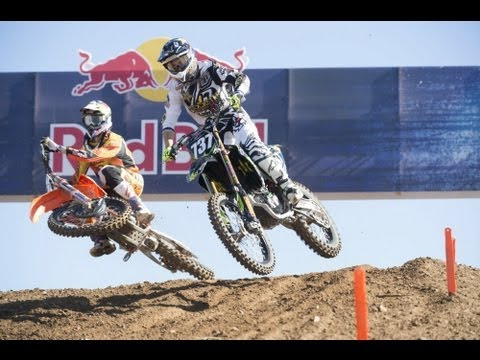 Offroad moto competition in Spain - Red Bull Give Me Five 2013