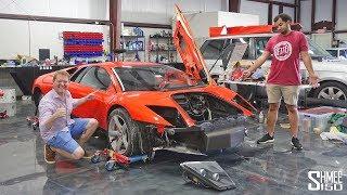 Visiting Tavarish and his $80k Lamborghini Murcielago from Fast and Furious!