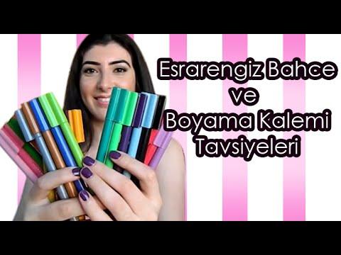 Esrarengiz Bahce Inceleme Ve Boya Kalemi Tavsiyeleri Youtube