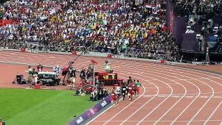 London 2012 - 800 m : David Rudisha 1