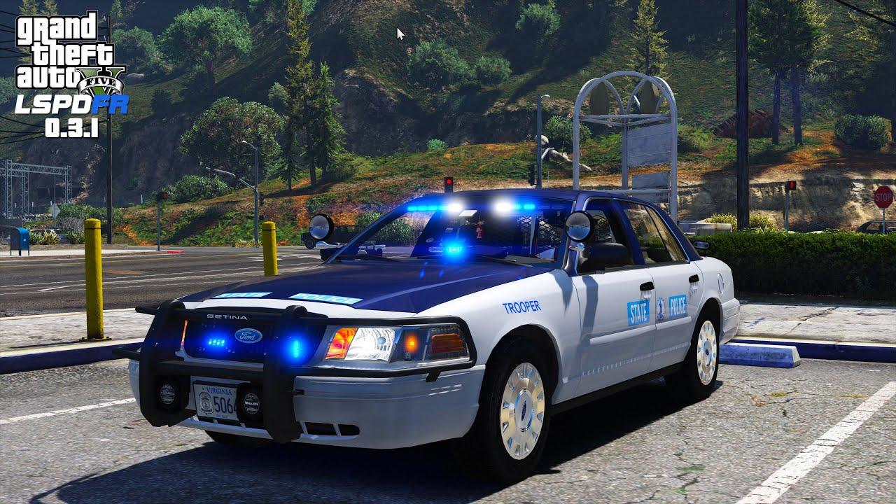 Police Cop Car Live Wallpaper Gta 5 Lspdfr Day 29 Virginia State Police Redneck