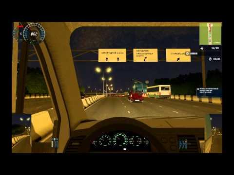 Перевозка груза в симуляторе вождения