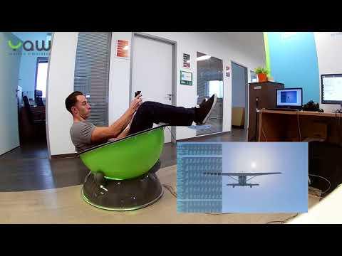 Yaw VR Motion Simulator - Flight Simulator Demo