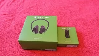 Xbox One Media Remote & Headset Unboxing