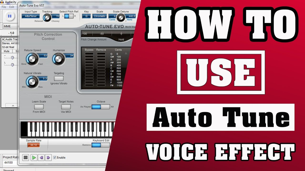 How To Use Auto Tune Evo Vst In Audacity