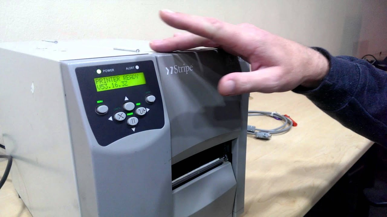 zebra s4m end error final checks youtube rh youtube com Zebra S4M Maintenance Manual Zebra S4M Printer Driver