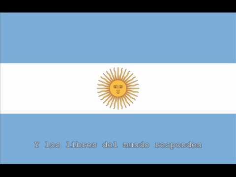 National Anthem of Argentina Instrumental with lyrics