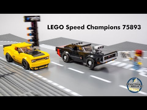 LEGO 75893 Speed Champions 2018 Dodge Challenger SRT Demon and 1970 Dodge Charger R/T review