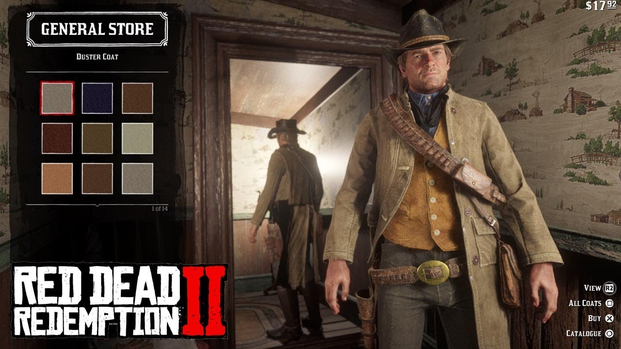 Red Dead Redemption 2 (RDR2) - All Clothing/Outfits - Complete Customization