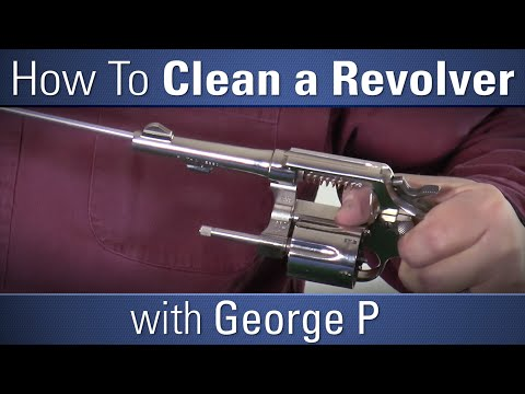 How To Clean a Revolver - with George P - OpticsPlanet.com