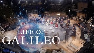 Time and Space | Life Of Galileo set build