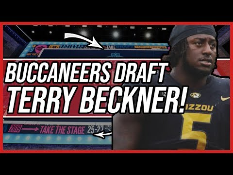 Tampa Bay Buccaneers Draft Terry Beckner Jr. with the 215th Overall Pick!