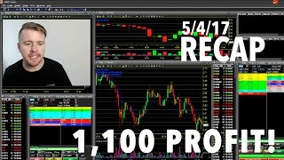 5/4/17 Small Account DayTrading Recap 1,172.72 PROFIT ON SOME BIG MOVERS!