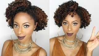 Natural hair | Super defined flat twist out routine || Jessica Pettway