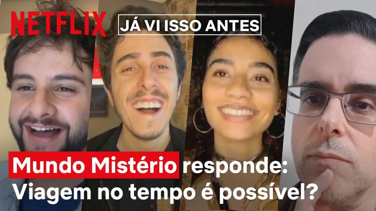 Discutindo viagens no tempo com Dark e Mundo Mistério | Já Vi Isso Antes | Netflix Brasil