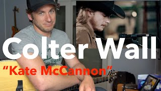 "Guitar Teacher REACTS: Colter Wall - ""Kate McCannon"""