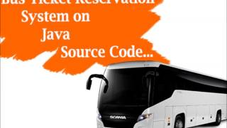 Bus Reservation System on JAVA
