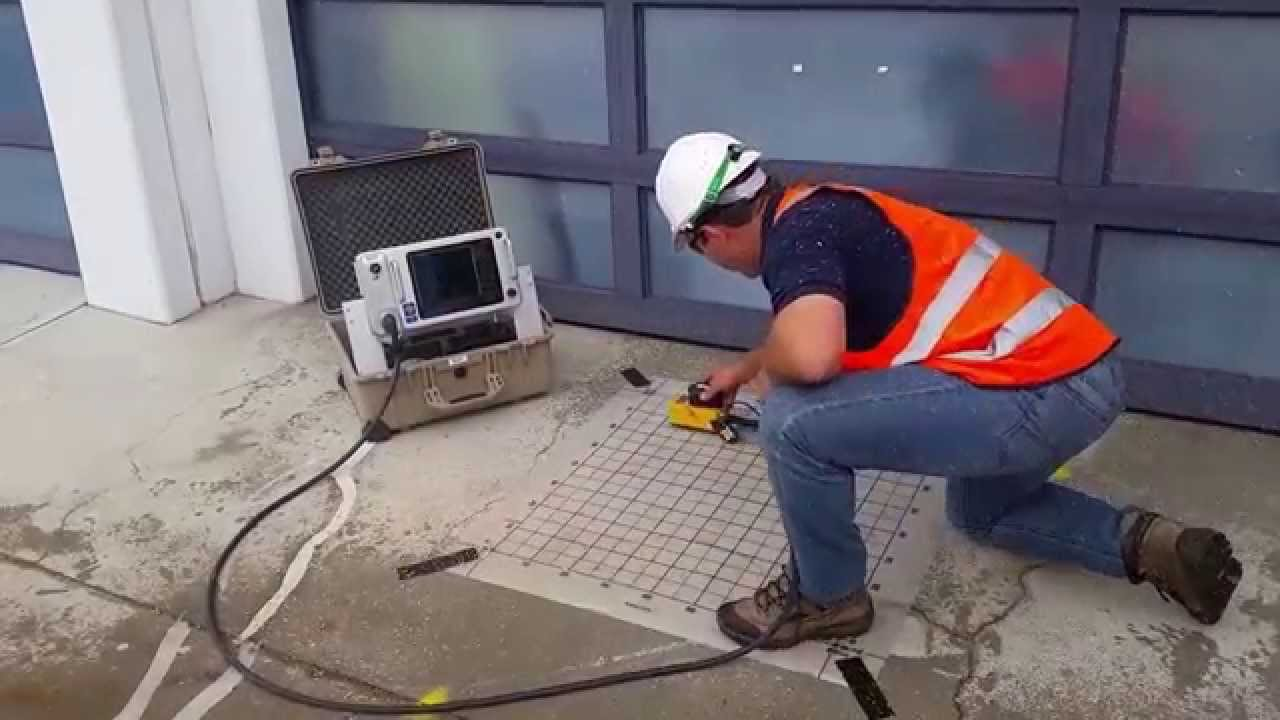 Mala Cx Concrete Scanner Field Test Youtube