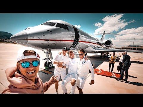 MY CRAZY BACHELOR PARTY! (Including a $60 000 000 PRIVATE JET!!!) | VLOG³ 06