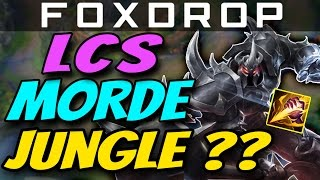 MORDEKAISER JUNGLE IN LCS? How to Carry #29 League of Legends Gameplay