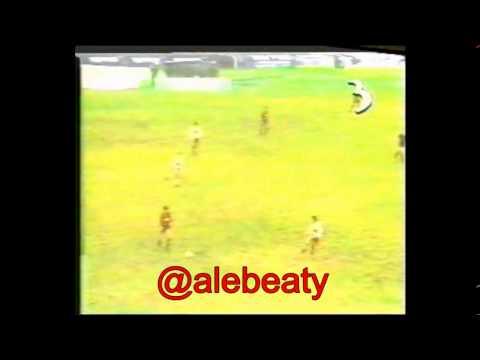 Clausura 1993, Lanus 1 Newell's 1 gol de Martino