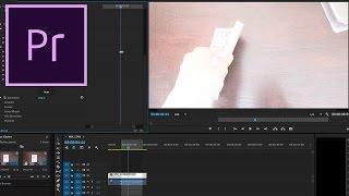 Kareleri kullanarak Beyaz bir Flaş Etkisi Oluşturma Adobe Premiere Pro CC Öğretici: