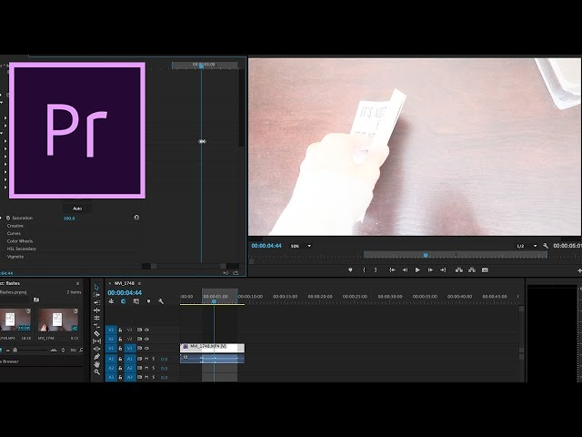 Adobe Premiere Pro CC Tutorial: How to Create a White Flash Effect using Keyframes