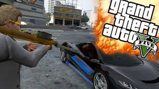 EXPLOSIEVE WRAAK! - GTA 5 Online Funny Moments