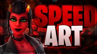 Speed Art Revamp FORTNITE Y FREE FIRE // HAGO BANNERS GRATIS