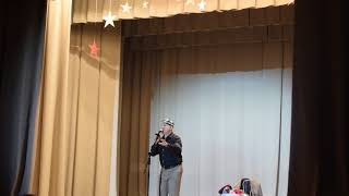 Смотреть Николай Лукинский. Выступление в с.Верх-Тула, 24.02.19 ч.3 онлайн