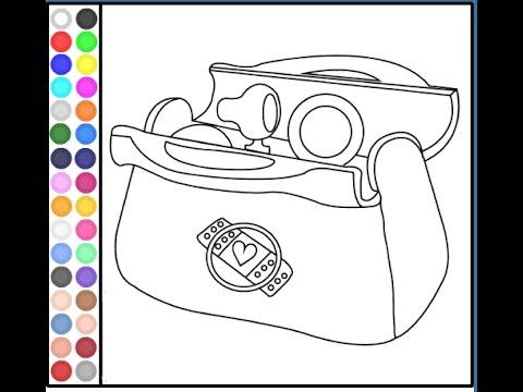 Doc McStuffins Coloring Pages - Doc McStuffins Games - YouTube