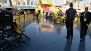 Video still for Wacker Nueson CRT48 Ride-On Trowel at World of Concrete 2019